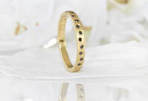 Lilia Nash Diamond Wedding Ring