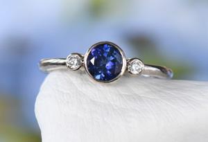 Lilia Nash Sapphire Engagement Rings